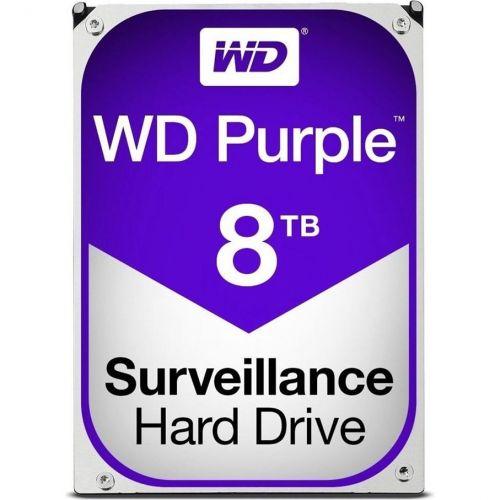 Hard Disk Western Digital Purple Surveillance 8TB SATA3 128MB 5400RPM