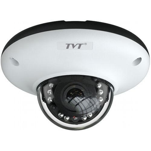 Camera IP TVT TD-9547E2(D/PE/IR0), Dome, 4MP, CMOS 1/3'', 3.6mm, 10 LED, IR 10m, IP66, WDR 120dB, Microfon, Carcasa metal