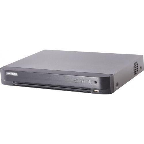 DVR Hikvision DS-7204HTHI-K1, TVI/AHD/CVI/CVBS, Max. 8MP, H.265+, 4 canale + 2 IP