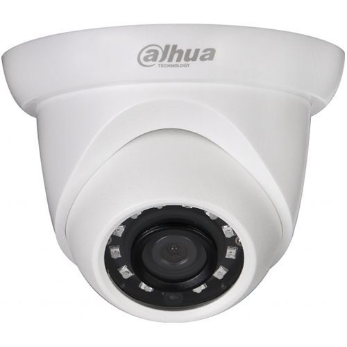 Camera de supraveghere Dahua IPC-HDW1531S, Dome, 5MP, CMOS 1/2.7'', 2.8mm, 12 LED, IR 30m, IP67, H.265+, Carcasa metal