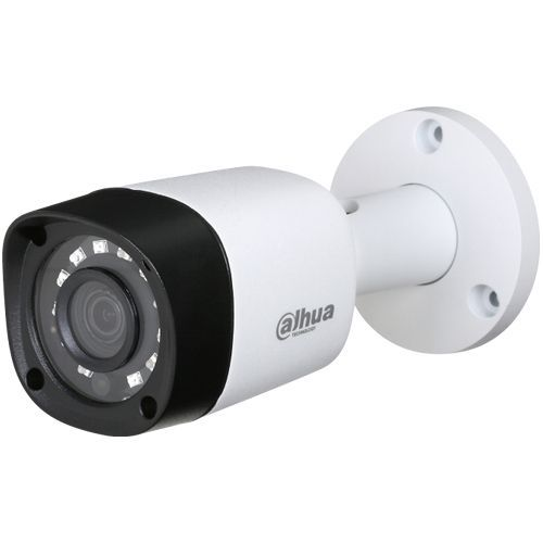 Camera Analogica Dahua HAC-HFW1220RM, HD-CVI, Bullet, 2MP 1080p, CMOS 1/2.9'', 2.8mm, 12 LED, IR 20m, IP67, Carcasa metal