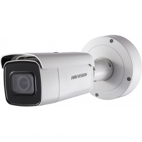 Camera IP Hikvision DS-2CD2643G0-IZS, Bullet, 4MP, 2.8-12mm, EXIR, IR 50m, IP67, IK10, WDR 120dB, H.265+, Card MicroSD, Carcasa metal