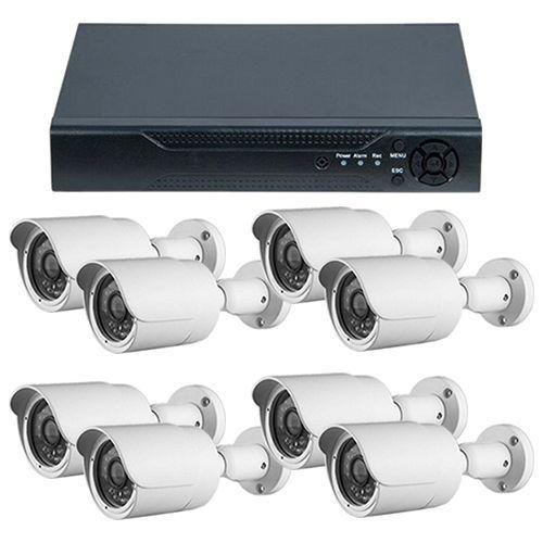 Sistem supraveghere Guard View DVR GHD-1081TLMV3.P + 8 camere bullet exterior 2MP