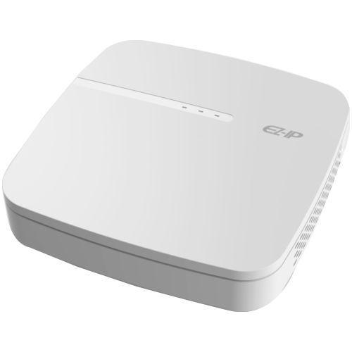NVR Dahua EZ-IP NVR1B04-4P, 4 canale, Max. 8MP, H.265+, 4 porturi PoE