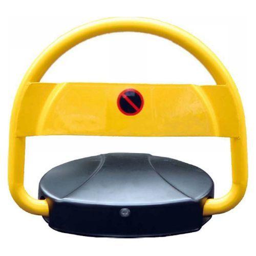 Blocator de parcare Seku APL450, Inaltime 450mm, Control telecomanda, Negru/Galben