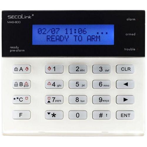 Tastatura alarma Secolink KM20B, LCD 2 randuri x 16 caractere