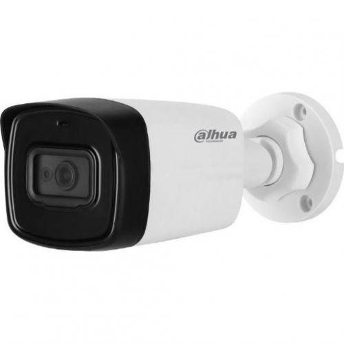 Camera de supraveghere Dahua HAC-HFW1200TL-0360B Bullet, HDCVI, 2MP, CMOS 1/2.7,  3.6mm, 2LED, IR 40m, IP67, carcasa plastic