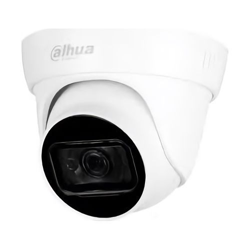 Camera de supraveghere Dahua HAC-HDW1400TL-A-0280B, dome HDCVI Dahua , 4MP, CVI/CVBS/AHD/TVI, senzor 1/2.7 CMOS, Max. 30pfs@4MP, lentila 2.8mm, IR 30m, Smart IR, Eyeball Camera, Built-in Mic, IP67