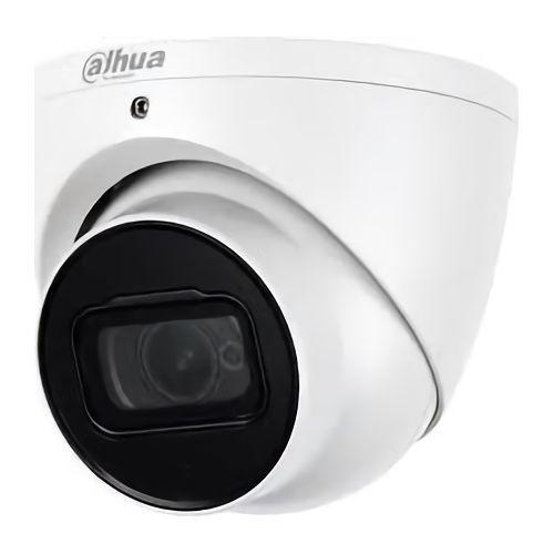 Camera de supraveghere Dahua HAC-HDW2501T-Z-A-27135, dome HDCVI, Eyeball Camera, 5MP, 1/2.8 CMOS, Starlight, HD/SD, Lentila motorizata 2.7-13.5 mm, IR 60m, 120dB true WDR, 3DNR, 20fps@5MP, Mic, IP67