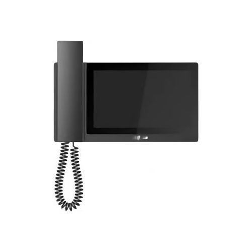Monitor videointerfon Dahua VTH5221E-H, IP, touch screen 7 inch, 1024x600,  IPC surveillance, Audio bidirectional, Alarm in/out 6/1, MicroSD 32GB, Record & Snapshot, negru