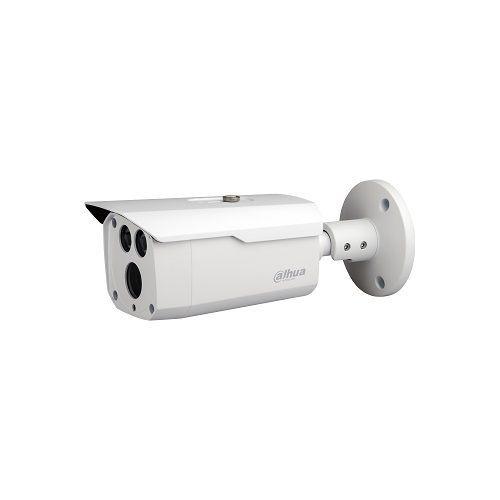 Camera de supraveghere Dahua HAC-HFW1801D-0360B, HDCVI Bullet 8MP, CMOS 1/2.7, 15fps@4K, 20fps@5MP, 25/30fps@4MP, CVI/TVI/AHD/CVBS, 3.6mm, IR 80m, Smart IR, ICR, OSD, 120dB True WDR, IP67