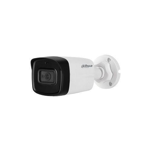 Camera de supraveghere Dahua HAC-HFW1801TL-A-0360B, HDCVI Bullet 8MP, CMOS 1/2.7, 15fps@4K, 20fps@5MP, 25/30fps@4MP, CVI/TVI/AHD/CVBS, 3.6mm, IR 80m, Smart IR, ICR, OSD, 120dB True WDR, Built-in mic, IP67