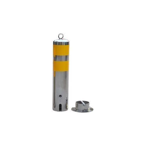 Bariera Control Acces PXW SPB-B, Bariera tip stalp din metal inoxidabil 114x500mm 1.9kg, cu cheie