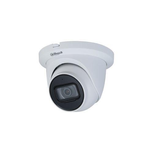 Camera de supraveghere Dahua IPC-HDW2431T-AS-0280B-S2, IP Dome 4MP, CMOS 1/3'', H.265+, 2.8mm, IR30m, Microfon, MicroSD, IP67, PoE, carcasa metal