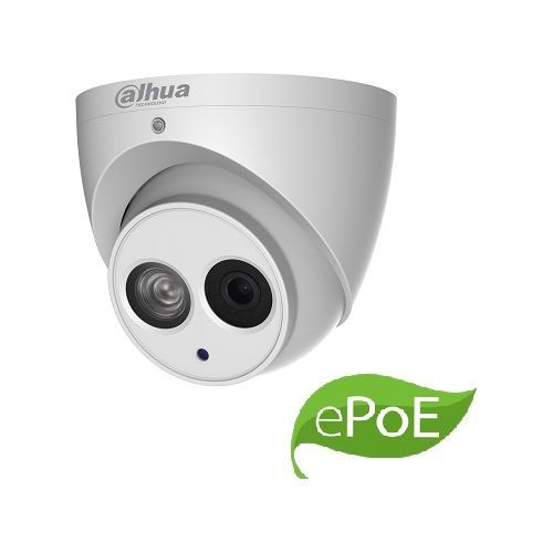 Camera de supraveghere Dahua IPC-HDW4831EM-ASE-0400B, IP Dome 8MP, CMOS 1/2.5'', 4mm, IR 50m, WDR, Microfon, MicroSD, IP67, ePoE, carcasa metal
