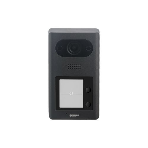 Post exterior videointerfon Dahua VTO3211D-P2-S2, Camera 2MP, 2 buton, SIP, PoE, IP65, IK08