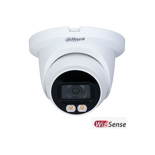 Camera de supraveghere Dahua IPC-HDW3549TM-AS-LED-0280B IP Dome Full-color 5MP, CMOS 1/2.7'', 2.8mm, LED 30m, WDR, Microfon, IP67, PoE