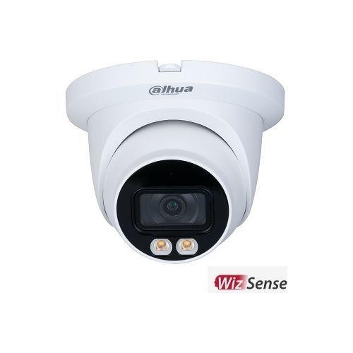 Camera de supraveghere Dahua IPC-HDW3249TM-AS-LED-0280B IP AI Dome Full-color 2MP, CMOS 1/2.8'', 2.8mm, LED 30m, WDR, Microfon, IP67, PoE