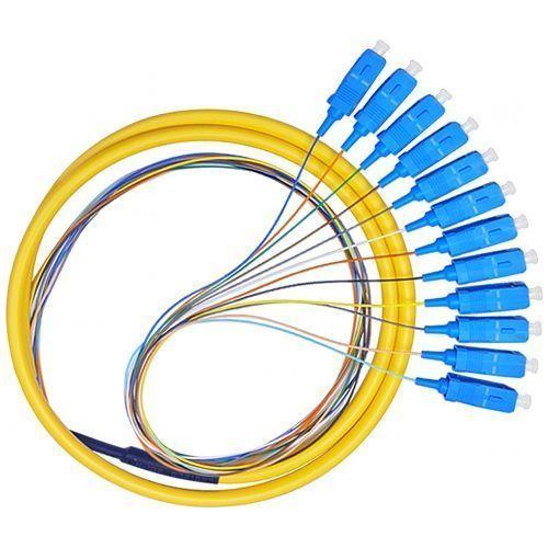 Accesoriu retelistica PXW Pigtail fibra optica 1.5m, 12 conectori SC