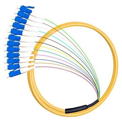 Accesoriu retelistica PXW Pigtail fibra optica 1m, 12 conectori LC