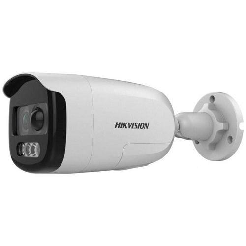Camera de supraveghere Hikvision DS-2CE12DFT-PIRXOF(3.6mm) Bullet Turbo HD 4-in-1, ColorVu 2MP CMOS, 3.6mm, detectie PIR, alarma audio si flash, IP67