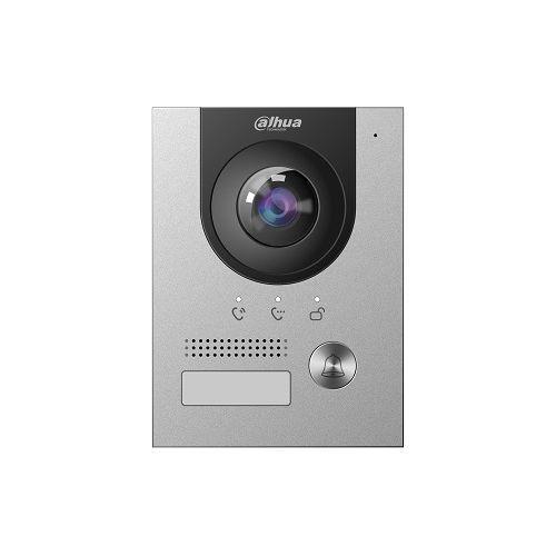 Post exterior videointerfon Dahua VTO2202F-P-S2, Post exterior IP 1 buton, 2MP, IP65, IK07, PoE