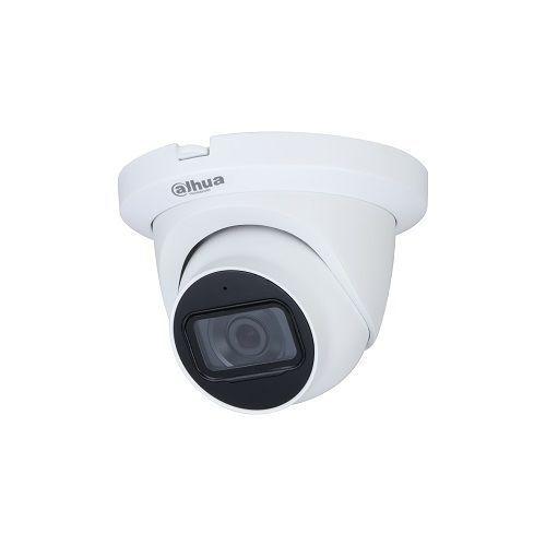 Camera de supraveghere Dahua HAC-HDW1231TLMQ-A-0280B, HDCVI Dome Starlight 2MP, CMOS 1/2.8'', 2.8mm, IR 30m, WDR 130dB, Microfon, IP67