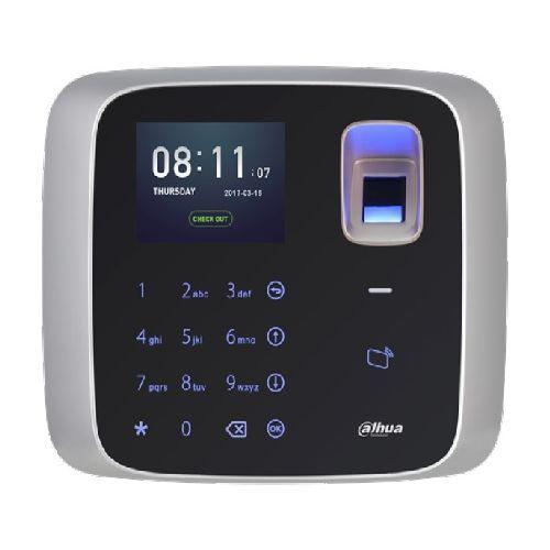 Cititor Dahua ASA2212A Terminal pontaj Dahua , card Mifare 13.56MHz/amprenta/parola, ecran LCD
