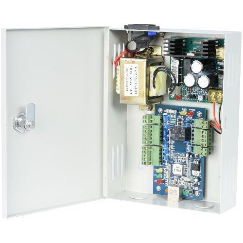 Kit Control Acces WG Access WG-A01WEB, Centrala acces + cutie cu sursa de alimentare