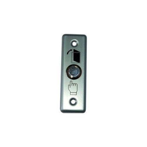 Accesoriu control acces PXW B-802L, Buton metalic iesire, NO/NC, led