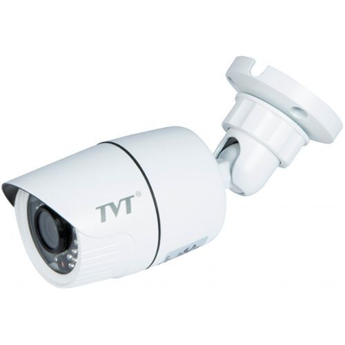 Camera IP TVT TD-9431T-D/PE/IR1, Bullet, H.264, 3MP 1080P@25-30fps CMOS 1/3 inch, 3.6mm, 30 LED, IR 20-30M, carcasa metal, POE