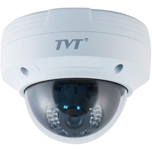 Camera IP TVT TD-9531E-D/PE/IR1, Dome, H.264 3MP@15fps, CMOS Aptina 1/3 inch, 3.6mm, 24 LED  IR 20m, carcasa metal