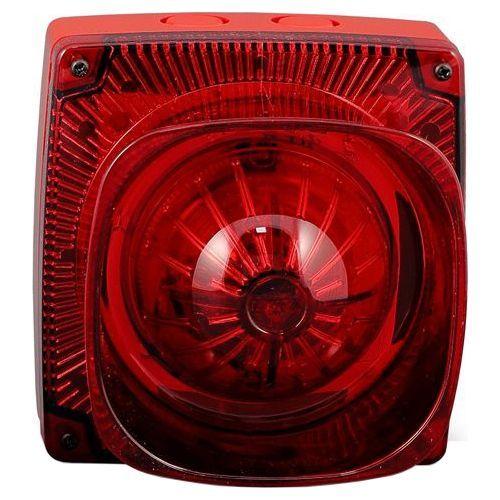 Sirena adresabila Zeta Maxitone rosie cu flash, 94dB