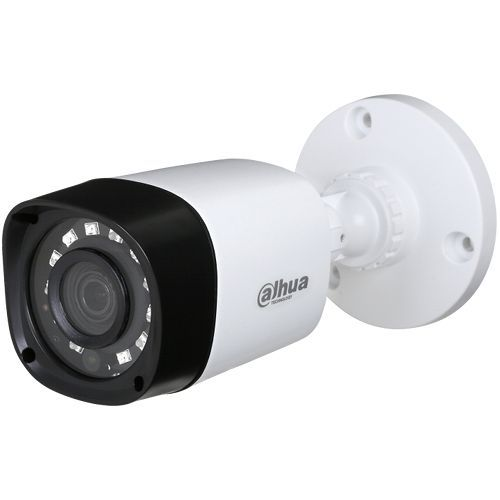 Camera Supraveghere Analogica Dahua HAC-HFW1000R S2, HD-CVI, Bullet, 1MP, 3.6mm, 12 LED, IR 15m, Rating IP67