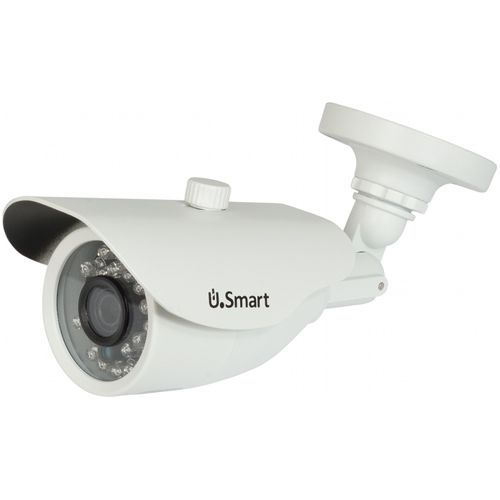 UB-407, AHD, Bullet, 1MP 720P,  CMOS OV 1/4 inch, 3.6mm, 24 LED, IR 20m, carcasa metal