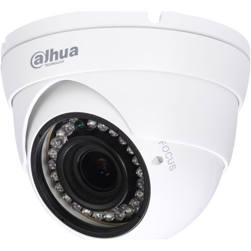 Camera de supraveghere Dahua HAC-HDW1200R-VF, HD-CVI, Dome, 2MP, 2.7 - 12mm, 24 LED, IR 30m, D-WDR, Rating IP67, Carcasa aluminiu
