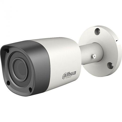 Camera Supraveghere Analogica Dahua HAC-HFW1200RM S2, HD-CVI, Bullet, 2MP, 3.6mm, 12 LED, IR 20m, Rating IP67, Carcasa metal