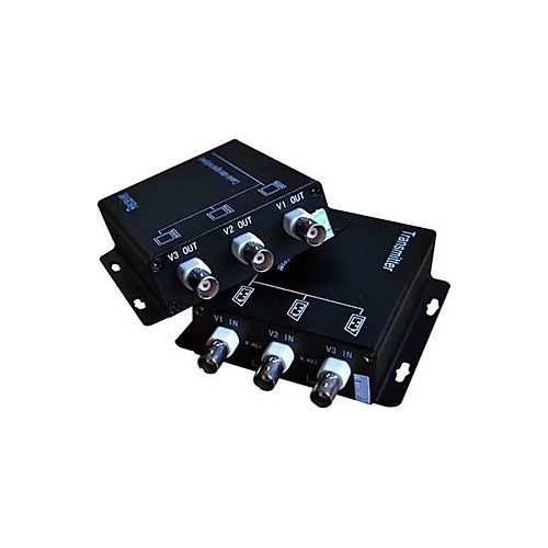 Accesoriu supraveghere PXW Multiplexor semnal video 3 canale