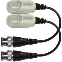Set 2 videobaloane pasive SEKU-4002P/S, Prindere cabluri cu clip si protectie