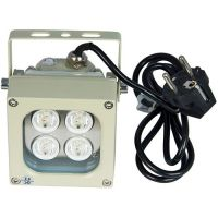 Accesoriu supraveghere PXW Proiector Infrarosu: 4 leduri x 3W