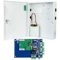Kit Control Acces Viontech VI-L01KIT, Centrala acces  IP 1 usa bidirectionala  +  Cutie cu sursa de alimentare