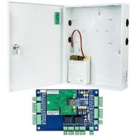 Kit Control Acces Viontech VI-L02KIT, Centrala acces IP  2 usi  bidirectionale + Cutie cu sursa de alimentare
