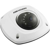 DS-2CS58A1P-IRS, CVBS, Mini Dome, 700 TVL, 3.6mm, 10 LED, IR 20m, Microfon, Antivandal IK07, Motion Detection, Low Light