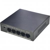 Switch Dahua PFS3005-4P-58, PoE, 4+1 porturi, 250m, 30W, Max. 58W