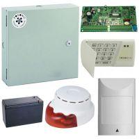 Kit antiefractie Posonic Interior, 18 zone, Centrala alarma + cutie + acumulator + senzor detectie miscare + sirena interior
