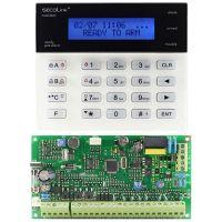 Kit antiefractie Secolink PAS808M+KM20BRO, Centrala PAS808M + tastatura KM20B