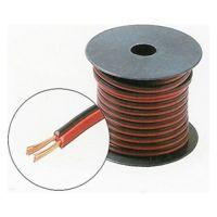 Cablu alimentare bifilar, Dublu izolat, 2 x 0.5 mm, Rola 100 metri
