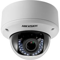 DS-2CE56D5T-AVPIR3Z, TVI/CVBS, Dome, 2MP, 2.8-12mm, 24 LED, IR 40m, WDR 120dB, Antivandal IK10, Zoom motorizat, 12V/24V