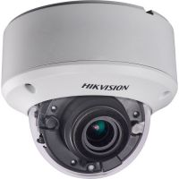 DS-2CE56F7T-AVPIT3Z, TVI, Dome, 3MP, 2.8-12mm, EXIR 2 Arrays, IR40m, Zoom motorizat, Antivandal IK10, WDR 120dB, 12V/24V