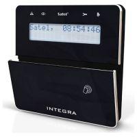 Tastatura alarma Satel INT-KLFR-BSB, LCD, Cititor de proximitate, Compatibila INTEGRA, Negru